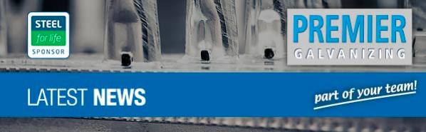 Premier Galvanizing Newsletter Banner