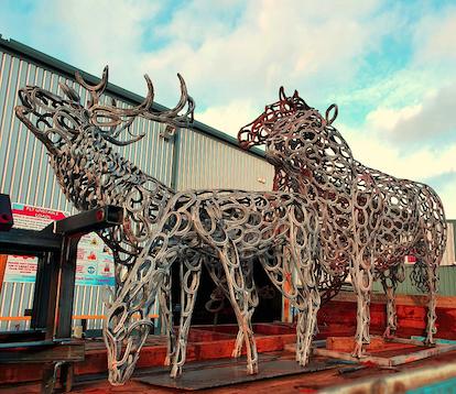 Tom Hill Sculpted Animals Premier Galvanizing