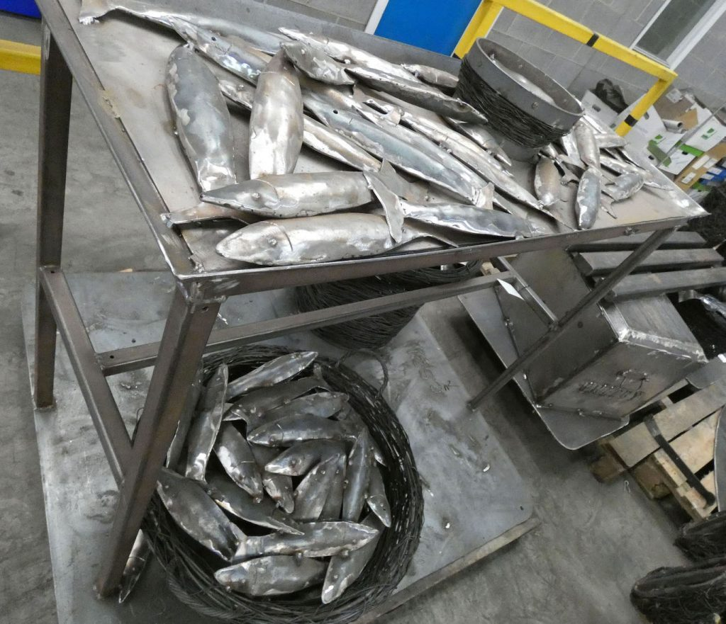Whitby Walk Heritage Sculptures by Emma Stothard Hot Dip Galvanized by Premier Galvanizing
