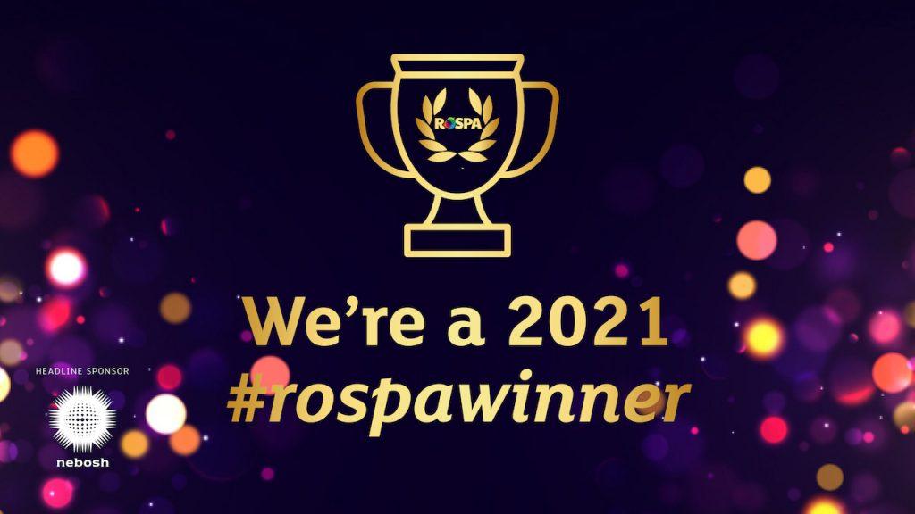 2021 RoSPA Gold Award Winner